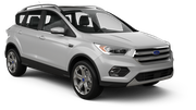 THRIFTY Car rental Kona Airport Suv car - Ford Escape