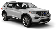 BUDGET Car rental Kona Airport Suv car - Ford Explorer