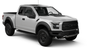 AVIS Car rental Edmonton Van car - Ford F-150