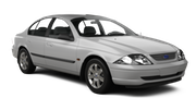 HERTZ Car rental Blenheim Fullsize car - Ford Falcon