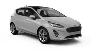 BUDGET Car rental Oak Hill Economy car - Ford Fiesta
