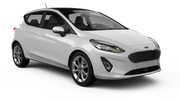 GOLDCAR Car rental Lisbon - Airport Economy car - Ford Fiesta of vergelijkbaar