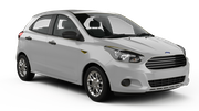 THRIFTY Car rental Abu Dhabi - Downtown Mini car - Ford Figo