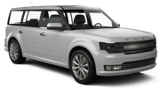 ALAMO Car rental Tampa - Airport Exotic car - Ford Flex