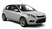 BUDGET Car rental Oak Hill Compact car - Ford Focus