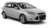 MEGADRIVE Car rental Bratislava - Downtown Standard car - Ford Focus Estate