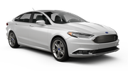 HERTZ Car rental Kona Airport Standard car - Ford Fusion