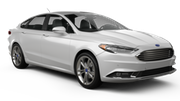 DOLLAR Car rental Amman - Corp Executive Hotel Standard car - Ford Fusion Hybrid