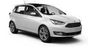 HERTZ Car rental Paris - Central Van car - Ford Grand C-Max