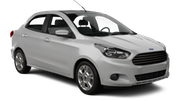 LOCALIZA Car rental Campo Grande - International Airport Standard car - Ford Ka Sedan