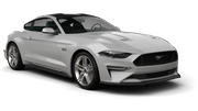 AUTO-UNION Car rental Marrakech Luxury car - Ford Mustang