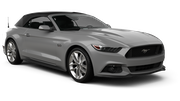 BUDGET Car rental Fort Lauderdale - Port Everglades Convertible car - Ford Mustang Convertible