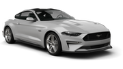 BUDGET Car rental Miami - Miami Beach Convertible car - Ford Mustang Convertible ya da benzer araçlar