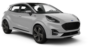 DOLLAR Car rental Dublin - Airport Suv car - Ford Puma
