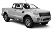 AVIS Car rental Luang Prabang Downtown Suv car - Ford Ranger
