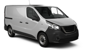 EUROPCAR VANS AND TRUCKS Car rental Stoke-on-trent Van car - Ford Transit Cargo Van