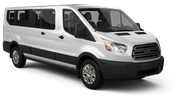 THRIFTY Car rental Vienna - Kagran Van car - Ford Transit Passengervan