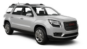 BUDGET Car rental Edmonton Suv car - GMC Acadia