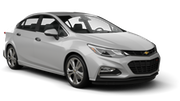 BUDGET Car rental Christchurch - Airport Standard car - Holden Cruze