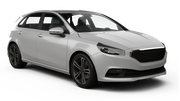 BUDGET Car rental Sydney Airport - International Terminal Economy car - Holden Spark