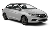 HERTZ Car rental Dubai - Jebel Ali Free Zone Economy car - Honda City