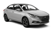 BUDGET Car rental Wollongong Economy car - Hyundai Accent