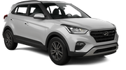 BUDGET Car rental Abu Dhabi - Downtown Suv car - Hyundai Creta