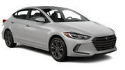 DOLLAR Car rental Kona Airport Standard car - Hyundai Elantra