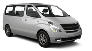 TEMPEST Car rental Durban - Airport - King Shaka Van car - Hyundai H1