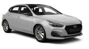 BUDGET Car rental Reykjavik - Keflavik International Airport Compact car - Hyundai i30