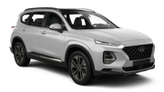 DOLLAR Car rental Kona Airport Suv car - Hyundai Santa Fe