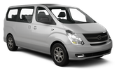 CHAILEASE Car rental Taipei - Taoyuan Intl Airport T1 Van car - Hyundai Starex