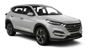 AVIS Car rental Belize Downtown Suv car - Hyundai Tucson