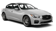 AVIS Car rental Abu Dhabi - Downtown Luxury car - Infiniti Q50