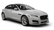HERTZ Car rental Tampa - Airport Fullsize car - Jaguar XF