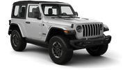 HERTZ Car rental Casablanca Port Railway Station Suv car - Jeep Wrangler