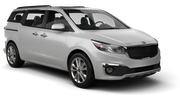 EAST COAST Car rental Sydney Airport - International Terminal Van car - Kia Carnival