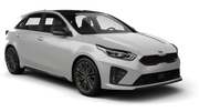INTERRENT Car rental Bourgas - Airport Compact car - Kia Ceed