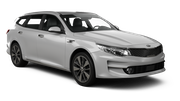 ECOVIA Car rental Perugia - Airport - St. Francis Of Assisi Standard car - Kia Optima Estate