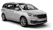 SIXT Car rental San Juan - Sheraton Convention Center Van car - Kia Sedona