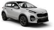 FOX Car rental Miami - Beach Suv car - Kia Sportage