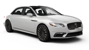HERTZ Car rental Hamad International Airport Luxury car - Lincoln Continental