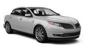 BUDGET Car rental Las Vegas - Airport Luxury car - Lincoln MKS ya da benzer araçlar