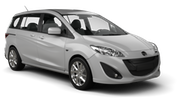 AVIS Car rental Orchard Area - Hotel Jen Tanglin - Hotel Delivery Van car - Mazda 5