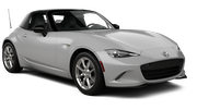 ENTERPRISE Car rental San Francisco - Airport Convertible car - Mazda Miata Convertible