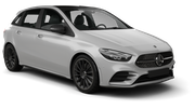 SIXT Car rental Norrkoping Standard car - Mercedes B Class