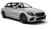 SIXT Car rental Dubai - Marina Luxury car - Mercedes C Class