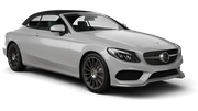 EUROPCAR Car rental Stoke-on-trent Convertible car - Mercedes C Class Convertible