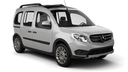 AVIS Car rental Seville - Airport Van car - Mercedes Citan
