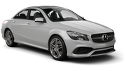 EUROPCAR Car rental Durban - Airport - King Shaka Luxury car - Mercedes CLA